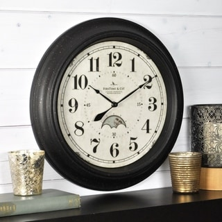 FirsTime & Co® Luna Wall Clock - 15.5""