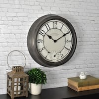 FirsTime & Co® Isle Patina Outdoor Wall Clock