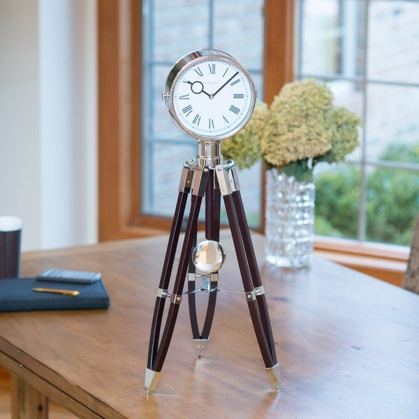 FirsTime & Co® Tripod Pendulum Clock. Opens flyout.