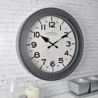 FirsTime & Co® Donovan Wall Clock - 18""
