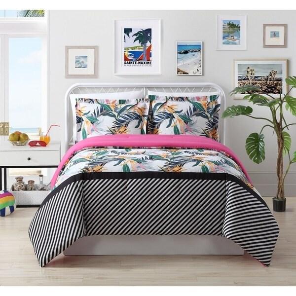 Body Glove Litz Leaf 2 & 3 Piece Comforter Set - Multi