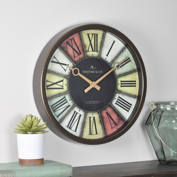FirsTime & Co® Prismatic Wall Clock