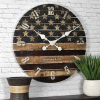 FirsTime & Co® Old Glory Wall Clock