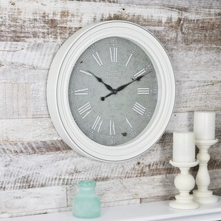 FirsTime & Co® Shabby Chic Wall Clock