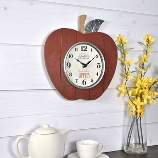 FirsTime & Co® Apple Orchard Wall Clock
