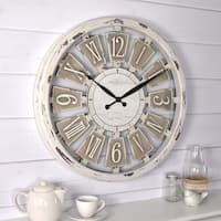 FirsTime & Co® Antique Plaques Wall Clock