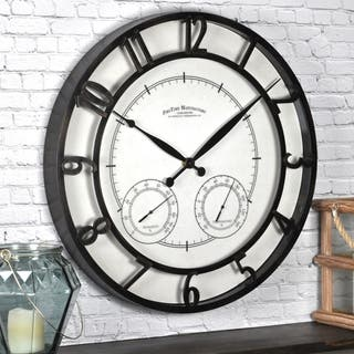 FirsTime & Co® Park Outdoor Wall Clock - N/A