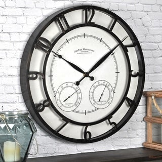 FirsTime & Co® Park Outdoor Wall Clock