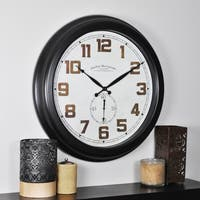FirsTime & Co® Blake Dual Wall Clock