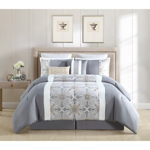 Hamilton Hall Faro 8 Piece Comforter Set