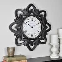 FirsTime & Co® Rosette Wall Clock