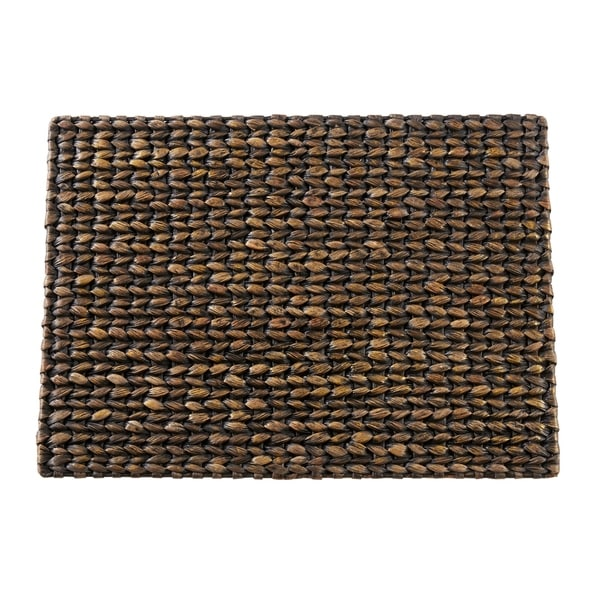 """Water Hyacinth Woven Placemats (Set of 4) - 14""""x19"""". Opens flyout."""