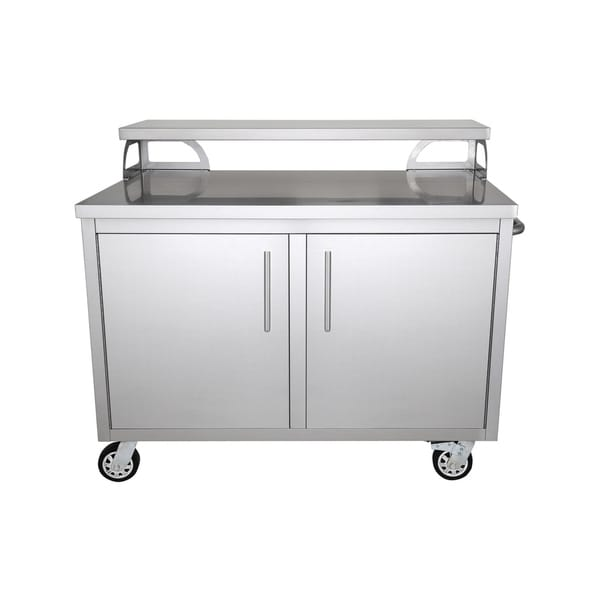 Shop Portable Stainless Steel Outdoor Kitchen Cabinet ...