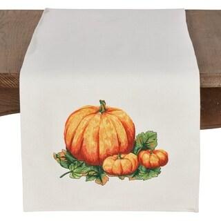 Decorative Pumpkin Table Runner