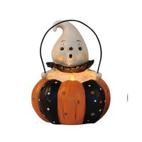 Resin Pumpkin Peep Light Up Decor