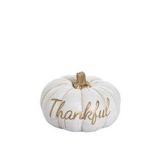 Resin Thankful Pumpkin