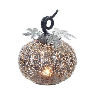 Metal Filigree Tealight Holder Pumpkin Decor