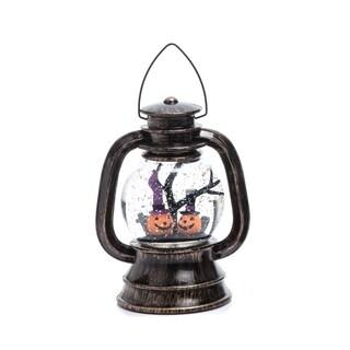 Acrylic Light Up Water Globe Lantern