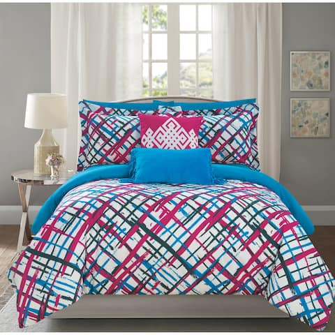 Chic Home Miro 9 Piece Reversible Miro Print Comforter Set