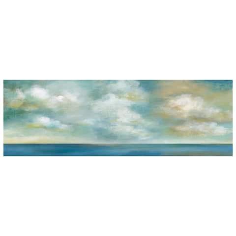 Cloudscape Coastal Vista II by Nan Wrapped Canvas Painting Art Print