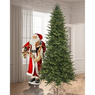 7.5 Ft. LED Ez Plug Slim Greenridge Tree with 8 Function Remote