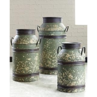 Elke Decorative Milk Can - Set of 3