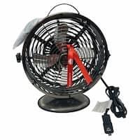 Himalayan Breeze Oscillating Fan Black Chrome Table Fan 3.53 lbs