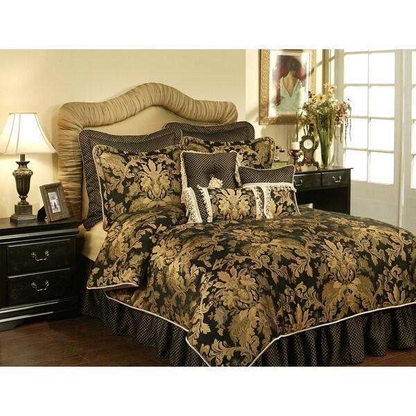 PCHF Lismore Black 3-piece Luxury Duvet Set