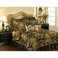 PCHF Lismore Black 3-piece Luxury Duvet Set