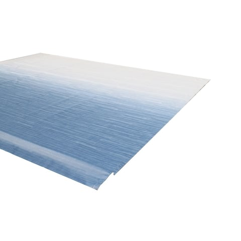 ALEKO Vinyl RV 18X8 ft Awning Replacement Fabric Blue Fade