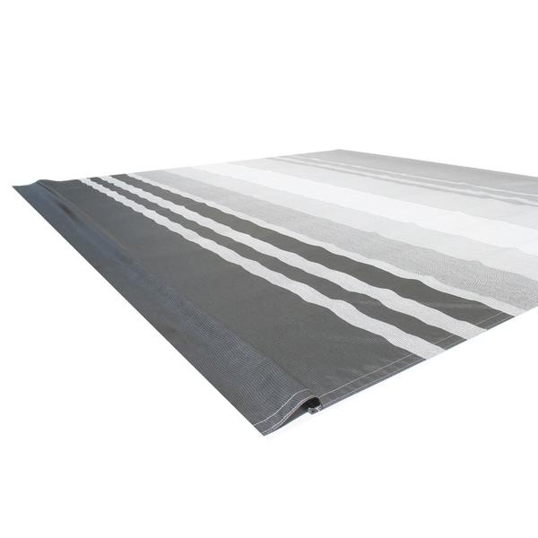 ALEKO Vinyl RV 13X8 ft Awning Replacement Fabric Black Stripes