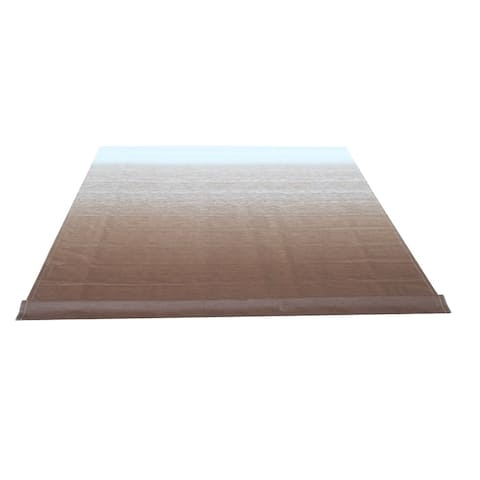 ALEKO Vinyl RV 20X8 ft Awning Replacement Fabric Brown Fade