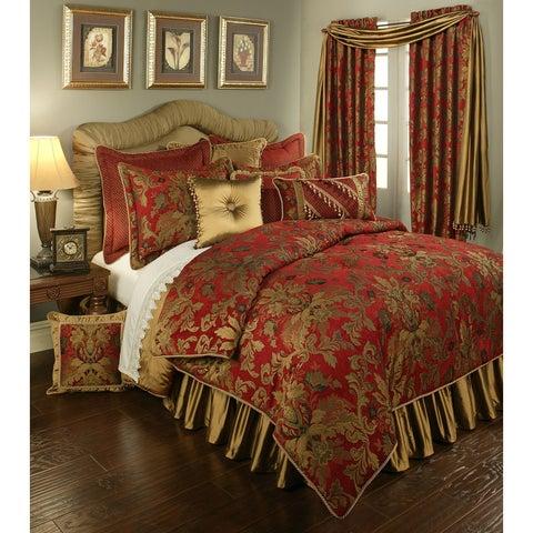 PCHF Verona Red 3-piece Luxury Duvet Set