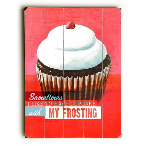 Frosting - Planked Wood Wall Decor by Cory Steffen