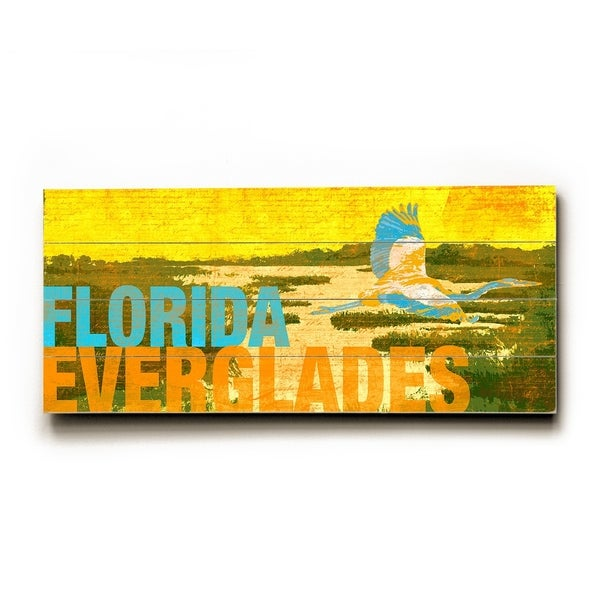 Everglades - Planked Wood Wall Decor by Cory Steffen