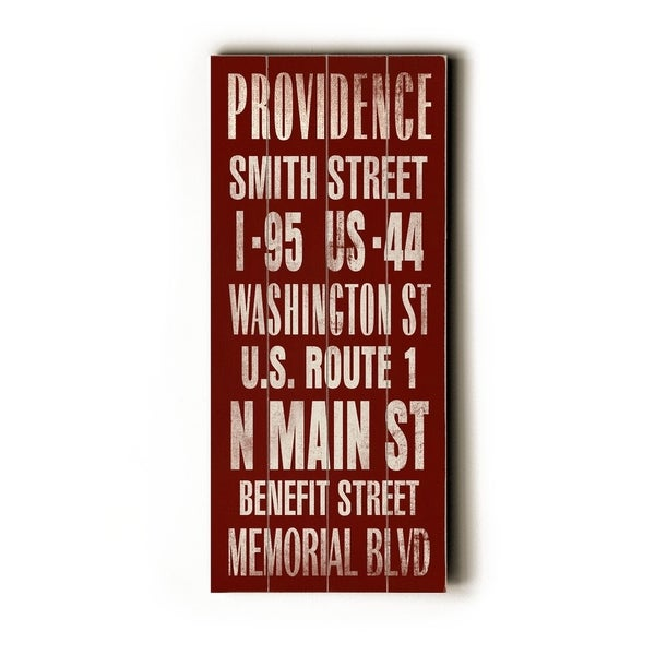 Providence - Planked Wood Wall Decor by Cory Steffen