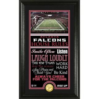 Atlanta Falcons House Rules Supreme Bronze Coin Photo Mint