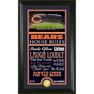 Chicago Bears House Rules Supreme Bronze Coin Photo Mint