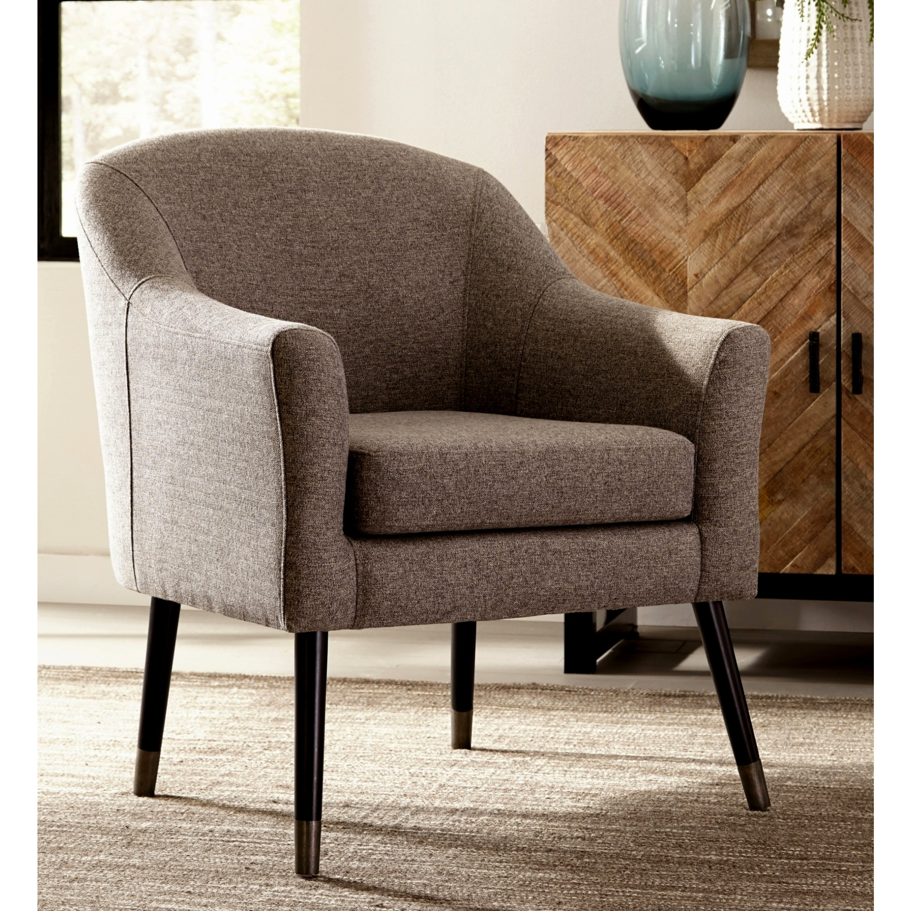 Post Modern Design Grey Living Room Accent Chair