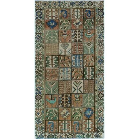 "Noori Rug Vintage Sherazi Daleyza Rust/Ivory Rug - 4'11"" x 9'9"""