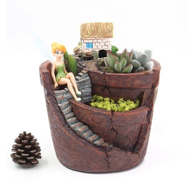 Shop Creative Plants Pot City Of Sky Succulent Plant Pot Flower