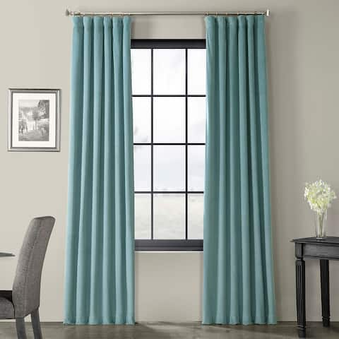 Exclusive Fabrics Signature Blackout Velvet Curtain
