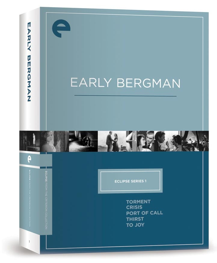Eclipse Series 1 - Early Bergman (DVD)
