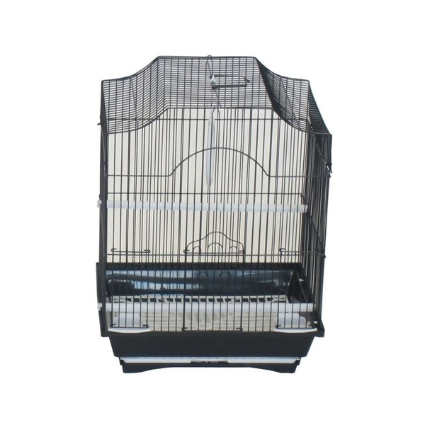 Shop Yml A1134blk Cornerless Flat Top Bird Cage With Removable