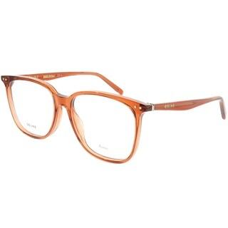 Celine Square CL 41420 Thin Eddie EFB Unisex Dark Orange Frame Eyeglasses