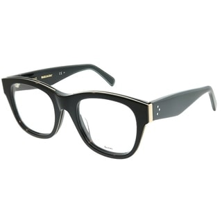 3f2e9dc0f27 Shop Celine Square CL 41364 Strat Brow AUB Unisex Black Gold Black Frame  Eyeglasses - Free Shipping Today - Overstock - 22745888