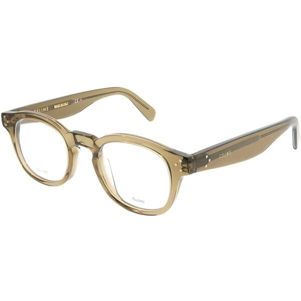 e235af0bb01 Celine Square CL 41410 George FU4 Unisex Coffee Frame Eyeglasses