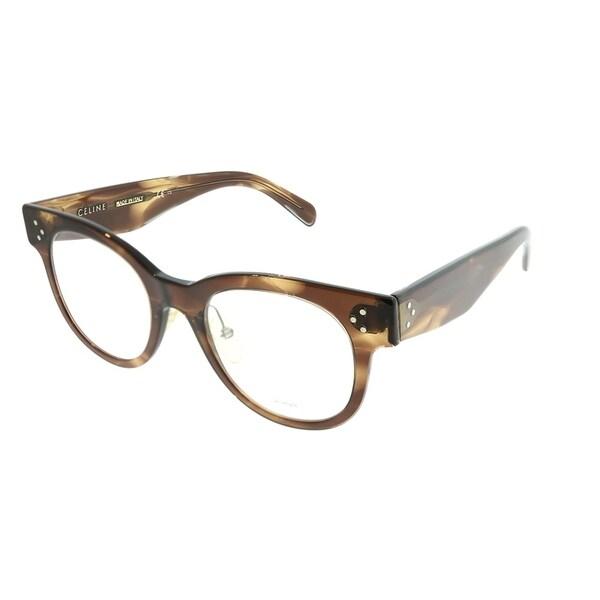 d2fdb7f7eed Celine Round CL 41427 Sara 07B Women Havana Brown Frame Eyeglasses