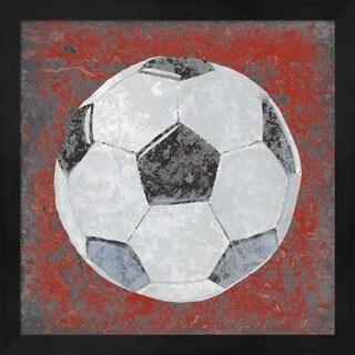 Studio W 'Grunge Sporting IV' Framed Art