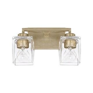 Capital Karina 2-light Winter Gold Bath/Vanity Fixture